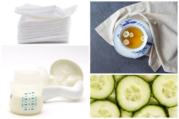 памучни марли,чай лайка,кърма,краставица