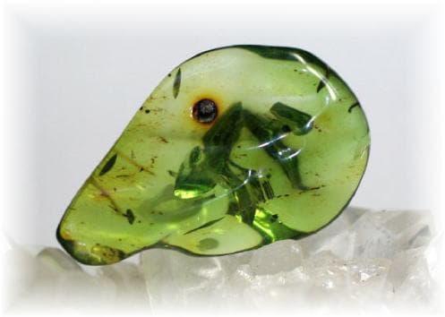 зелен кехлибар