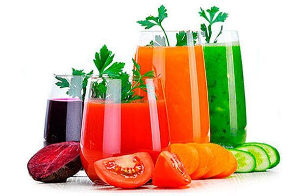 зеленчукови сокове