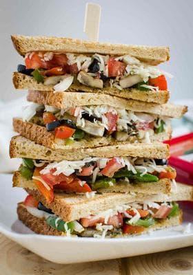зеленчукови сандвичи