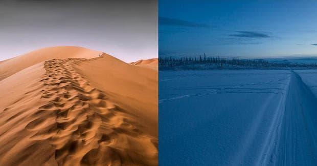 Пустиня и Северен полюс