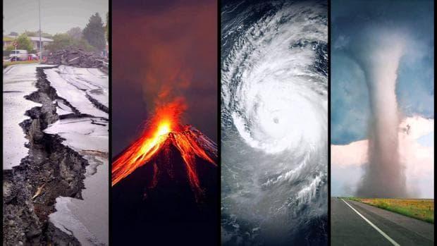 Вулкани, земетресения, урагани