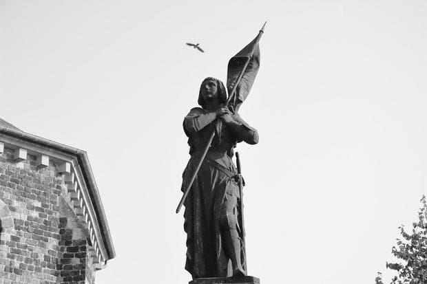 Статуя на Жана д'Арк