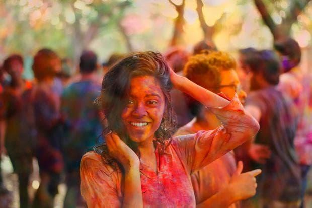 Фестивал на цветовете Холи