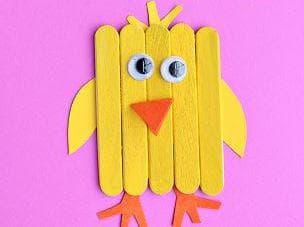 Пиленца от пръчки за мини сладолед