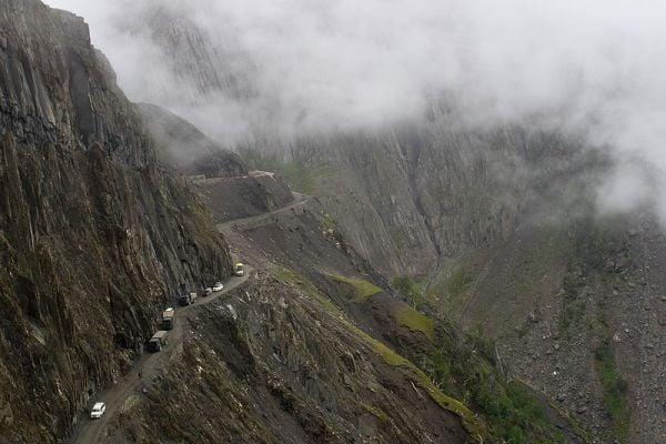 Пътят Зожи Ла в Индия
