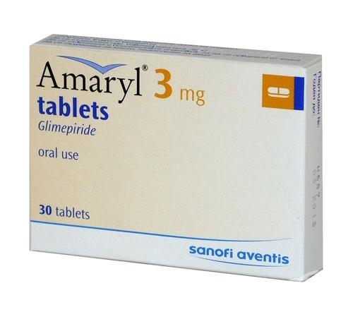 АМАРИЛ табл. 3 мг. * 30 (AMARYL tabl. 3 mg. * 30), цена и ...