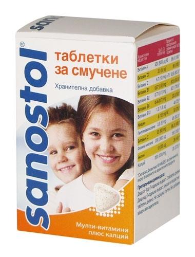 Sanostol витамины инструкция - фото 11