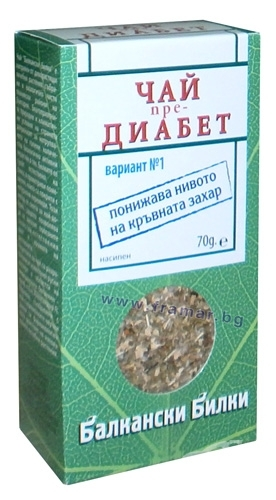 Чай для сахарного диабета 1 типа