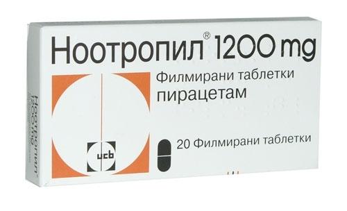 Nootropil Tabl 1200 Mg 20 Nootropil Tabl 1200 Mg 20 Cena