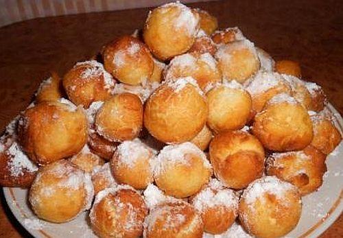 Пончики из сгущенки на сковороде рецепт