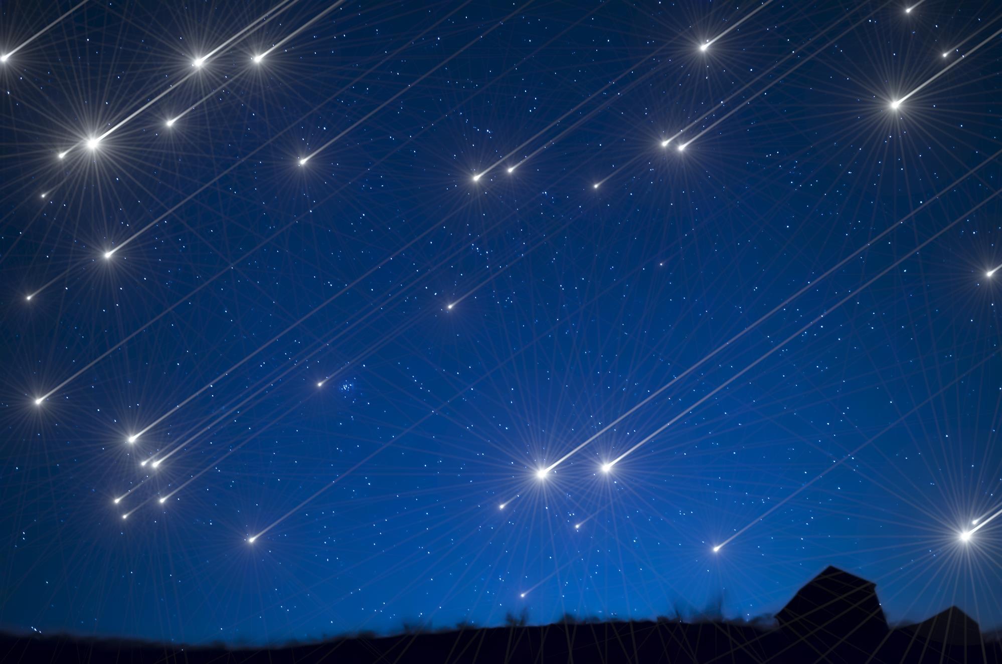 Резултат с изображение за метеоритен дъжд