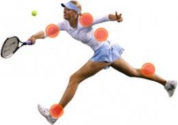 Травми в тениса - изображение
