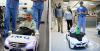 В Перу децата сами се придвижват към операционната с детски акумулаторни коли