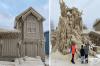 Буря в Хамбург превърна местните къщи в ледени скулптури