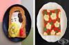 16 красиви изображения с хранителни продукти върху тостерен хляб