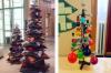 20 необичайни коледни елхи, които освежават традициите със своя персонализиран дизайн