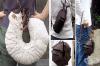 Японски художник създава реалистични дамски чанти и аксесоари във формата на насекоми и животни