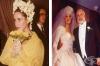30 запомнящи се булчински рокли на известни личности