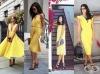 Жълтата рокля е нещото, което трябва да имате в гардероба си през лято 2016