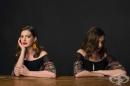 Фотограф създава проект, в който на една снимка актьори позират като звезди, а на друга – както си искат