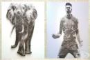 10 невероятни картини, създадени с пирони