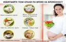 Храни и билки по време на бременност