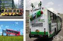 17 примера за реклами върху автобуси на едно ново ниво
