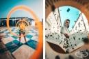 Фотограф използва творчески трикове, за да прави невероятни снимки