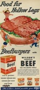 32 шантави реклами за различни храни, които днес биха учудили или възмутили много от потребителите