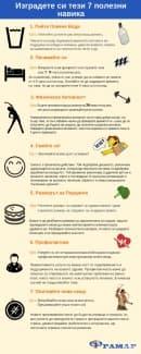 Изградете си тези 7 полезни навика