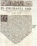 """Описание и естество на аневризмите в """"Synagogae Medicae"""" на византийския медик Орибасий"""