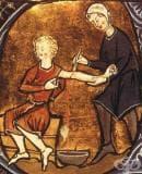 Трудове, личности и теории от миналото, описващи лечебното кръвопускане и артериотомията