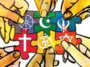 Инфографика, описваща основните световни религии и техния мироглед