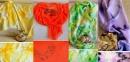Ръчно изработените копринени шалове на Елена Хаджигенова – нежна феерия от цветове и страст