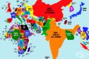 Картите, които ще променят възприятието ви за живота на Земята
