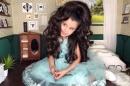 Петгодишна красавица впечатлява с невероятни прически в социалните мрежи