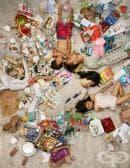 Фотографии на хора, затрупани от съдържанието на кофите им за боклук, които ще ви накарат да се замислите