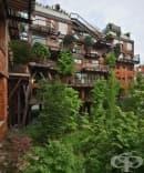 В Торино има вертикална гора, която служи като мембрана за шума и замърсяването