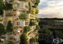 35-метрова жилищна кула ще е първата сграда в света, покрита с вечнозелени дървета (галерия)