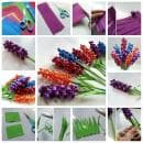 Как да си направим красив букет от хартиени зюбмюли - оригами (снимки)