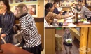Маймуни работят като сервитьори в японски бар