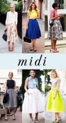 Тенденции в дамския гардероб – лято 2014: Разкроените миди и дълги до глезен поли отново са на мода! (Част втора)