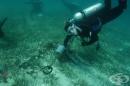 200 римски амфори са открити в подводна пещера в близост до Майорка