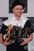 Джъстин Тимбърлейк е големият победител на наградите на MTV 2013