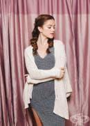 3 усъвършенствани прически, които вървят с вашия пуловер (1 част)