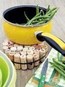 Как да превърнете корковите тапи от вино в еко предмети?