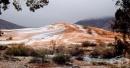 Падна сняг в Сахара за първи път от 37 години