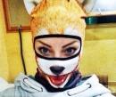 Вижте животинските маски за ски на Тея Салат