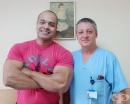 """Известният египетски бодибилдър Карим Фарраг претърпя успешна операция на двустранна херния във """"Вита Херния Център"""""""